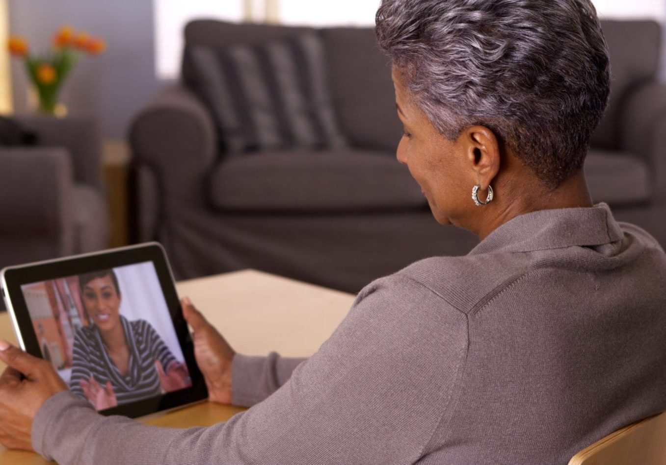 Technology bringing family members together